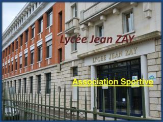 Lycée Jean ZAY
