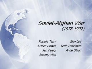 Soviet-Afghan War (1978-1992)