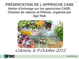 Cotonou, le 9 Octobre 2012