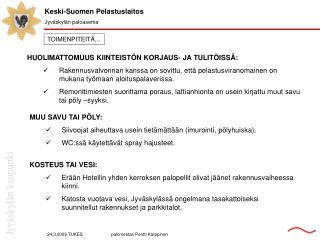 Keski-Suomen Pelastuslaitos Jyväskylän paloasema