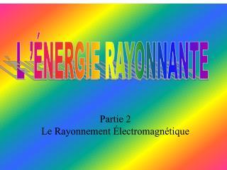 L���NERGIE RAYONNANTE