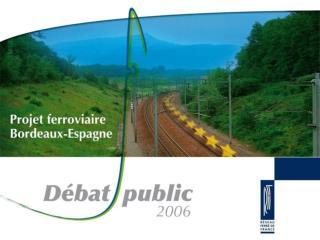 Corridor Atlantique le  plus court  chemin  entre  Paris  et  Madrid