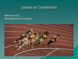 Jueces de Competición
