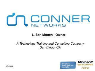 A Technology Training and Consulting Company San Diego, CA