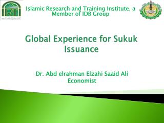 Global Experience for Sukuk Issuance