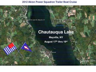 2011 Akron Power Squadron Cruise Presque Isle Erie, Pennsylvania August 19 th  thru  21 st