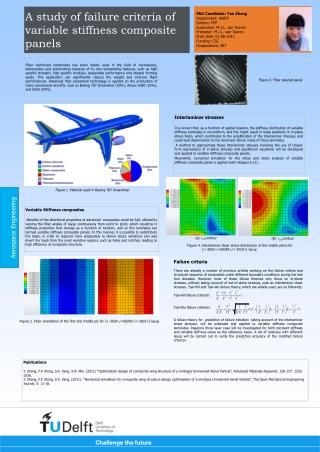 A study of failure criteria of variable stiffness composite panels