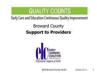 Broward County Support to Providers