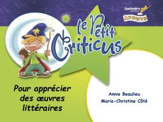 Annie Beaulieu Marie-Christine Côté