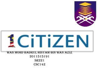 WAN MOHD BADRUL HISYAM BIN WAN AZIZ 2011515191 SR221 CSC142