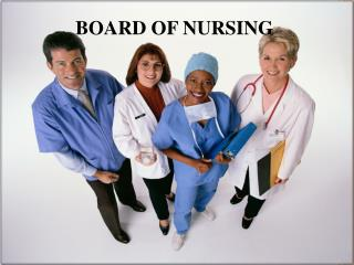 BOARD OF NURSING