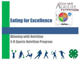 Eating for Excellence