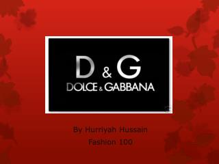 By Hurriyah Hussain Fashion 100