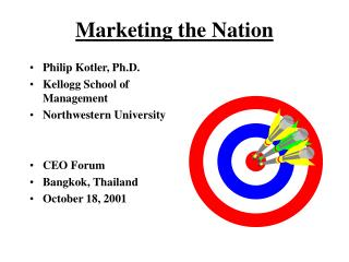 Marketing the Nation