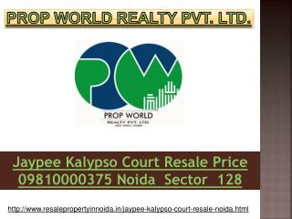 Jaypee Kalypso Court Price noida Sector 128, Noida Expresswa