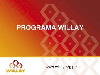 PROGRAMA WILLAY