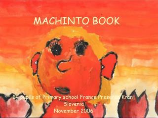 MACHINTO BOOK