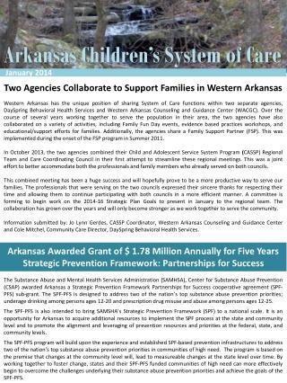 Arkansas Children's System of Care