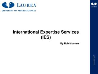 International Expertise Services (IES)