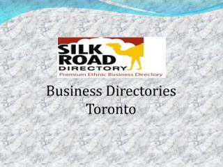 Business Directories Toronto