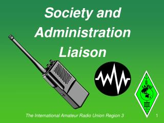 Society and Administration Liaison