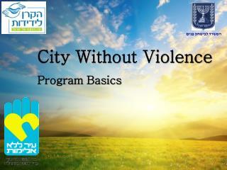 City Without Violence  Program Basics