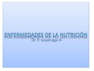 Enfermedades de la Nutrición