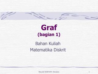 Graf  (bagian 1)