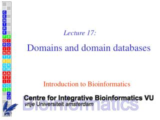 Domains and domain databases