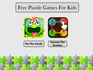 Free Puzzle Games for Kids