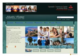 Spanish courses for adults   Learn Spanish abroad   Spain