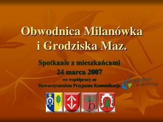 Obwodnica Milanówka  i Grodziska Maz.
