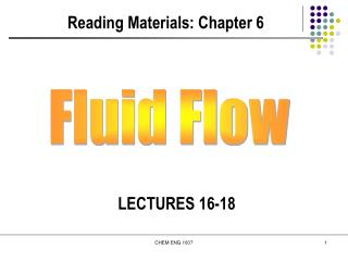 Reading Materials: Chapter 6