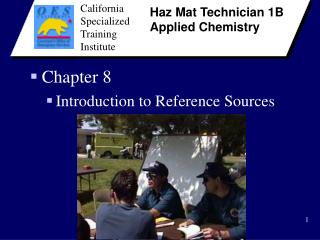 Chapter 8 Introduction to Reference Sources