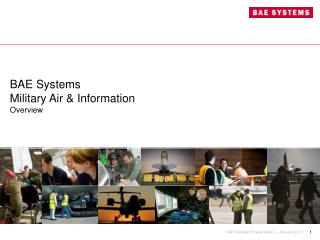 BAE Systems Military Air & Information Overview