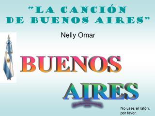 """""""La canción  de Buenos AIRES"""""""