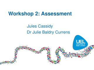 Workshop 2: Assessment