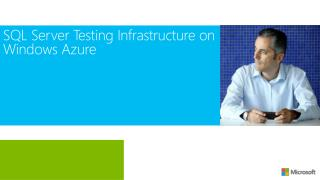 SQL Server Testing Infrastructure on Windows Azure
