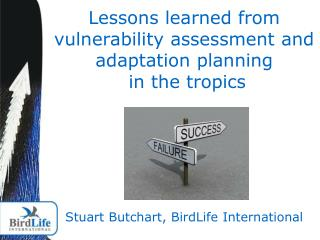 Vulnerability assessments & adaptation planning