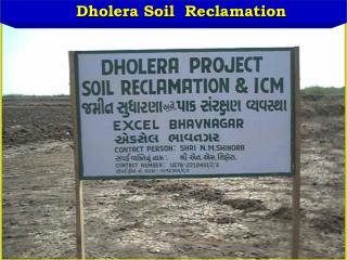 Dholera Soil  Reclamation