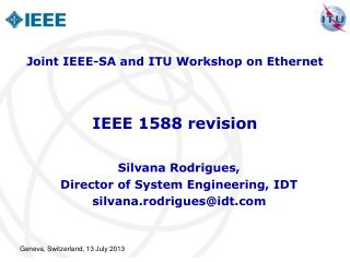 IEEE 1588 revision