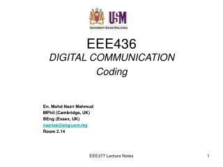 EEE436