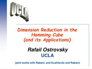 Dimension Reduction in the Hamming Cube  (and its Applications)