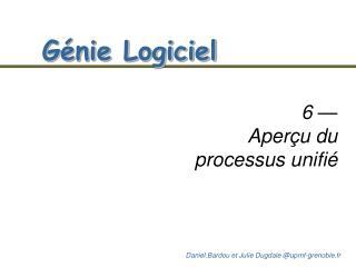 Génie Logiciel