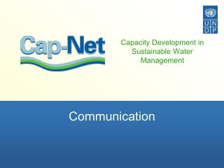 Capacity Development in Sustainable Water Management