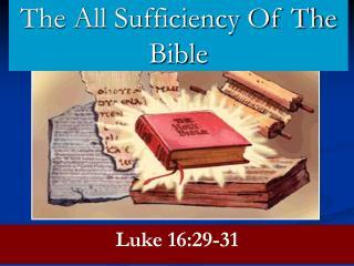 Luke 16:29-31