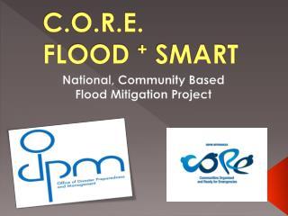 C.O.R.E.   FLOOD  +  SMART