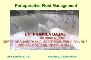 DR. PRAMILA BAJAJ SR. PROF. & HEAD