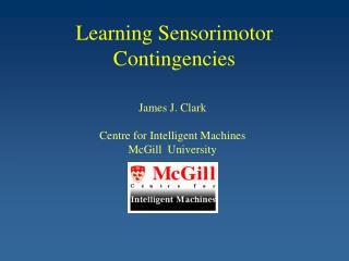 Learning Sensorimotor Contingencies