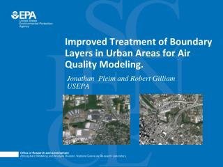 Improved Treatment of Boundary Layers in Urban Areas for Air Quality Modeling.